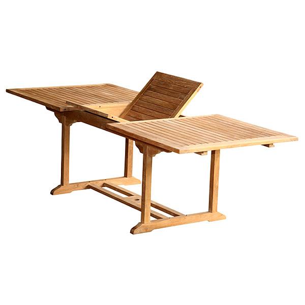 Extendable Teak Dining Table Totxt015
