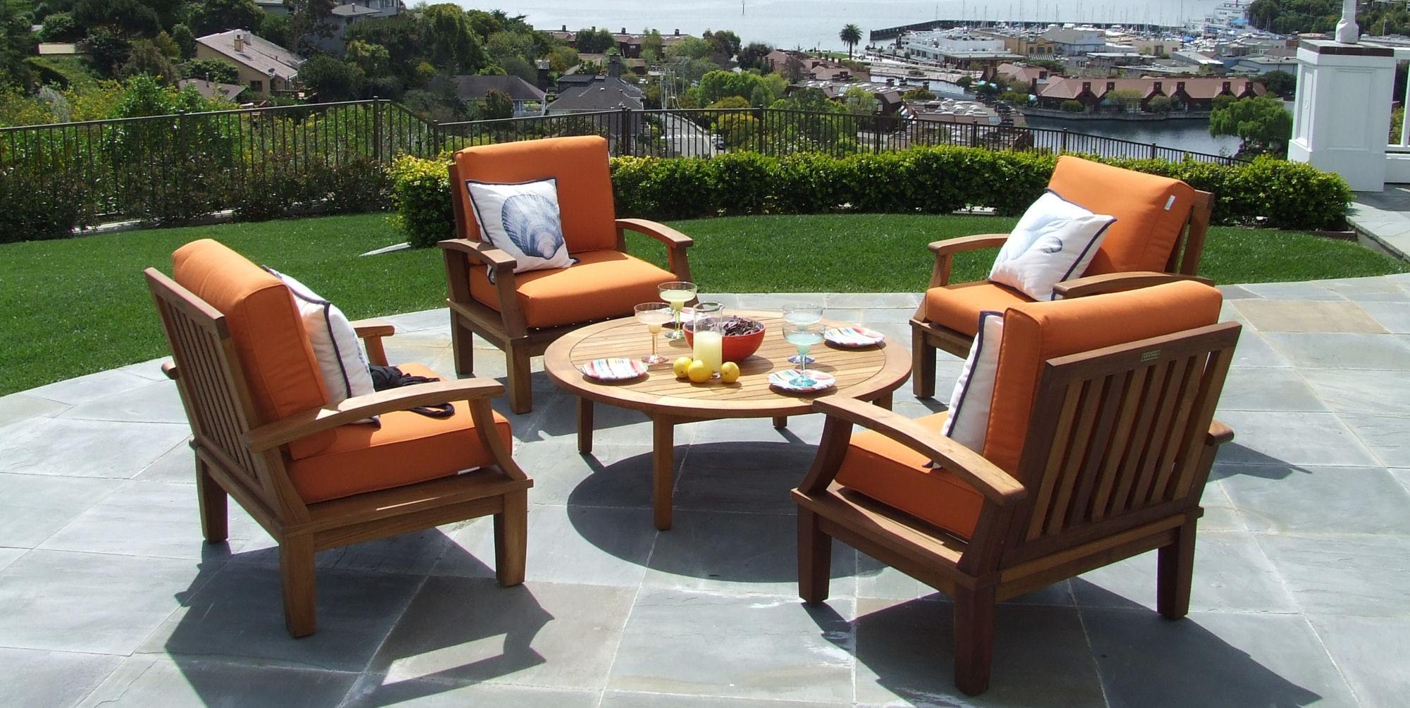 Custom Wholesale Teak Furniture Outdoor Patio Garden Pool